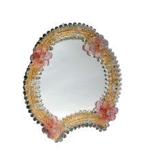 Specchio da tavolo Elisabetta rosa