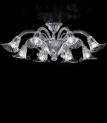 Plafoniera Calla cristallo