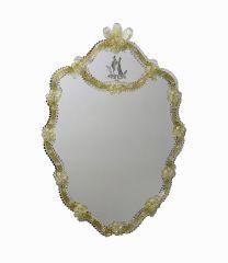 Specchio in Vetro di Murano Tintoretto