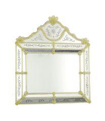 Specchio di Murano Tofana oro 24k