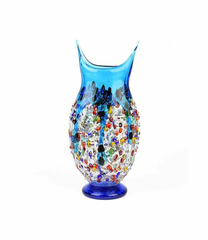 Vase Murano Glass Lamp Chandelier, vase, glass, furniture